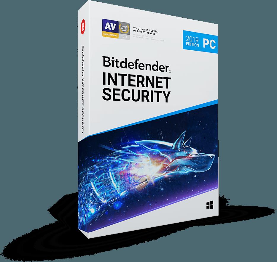 Bitdefender Internet Security 2019 خرید لایسنس ۶ ماهه – ۳ دستگاه