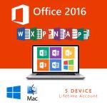 خرید لایسنس آفیس Office 2016 | Lifetime Account  5 Device